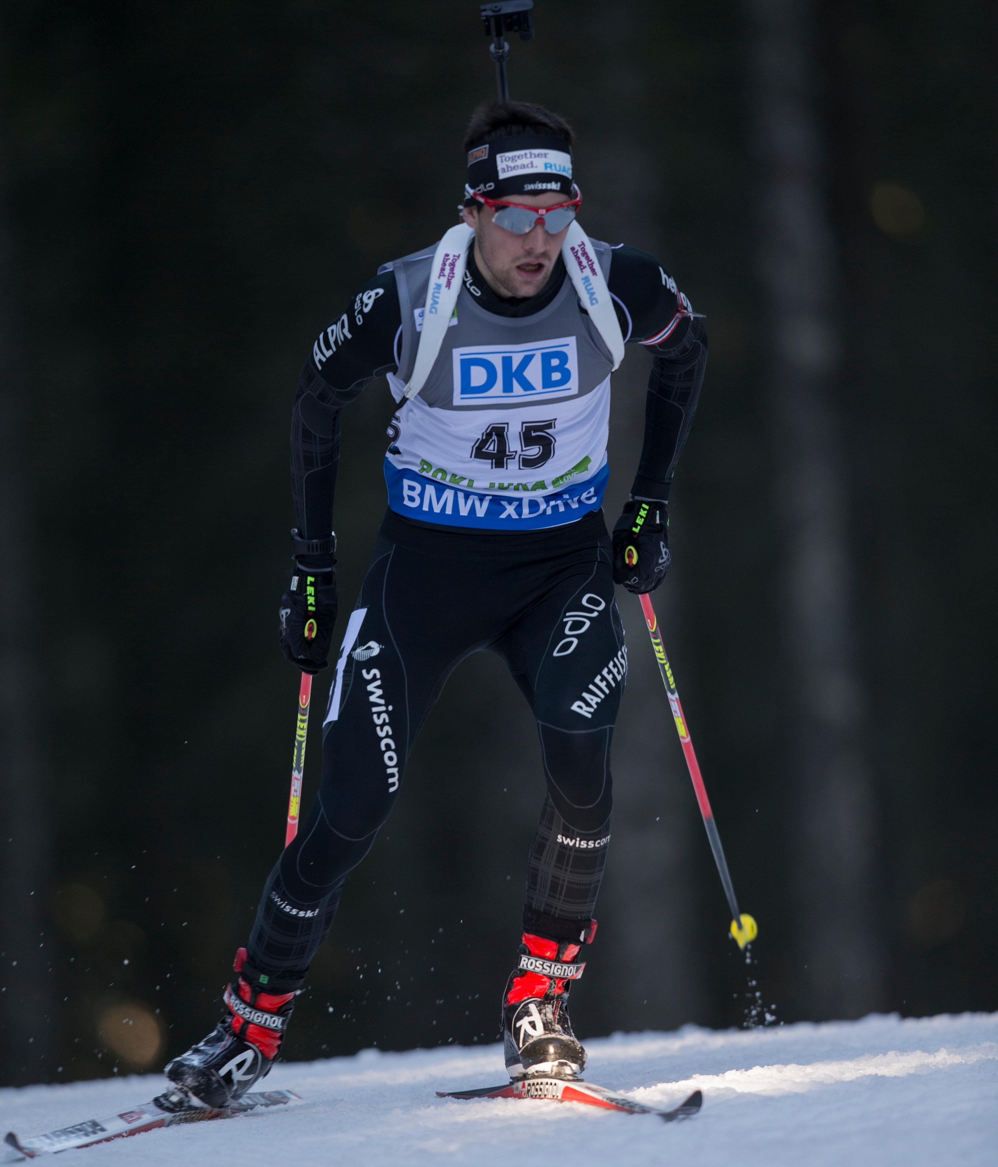 IBU world cup biathlon, sprint men, Pokljuka (SLO)